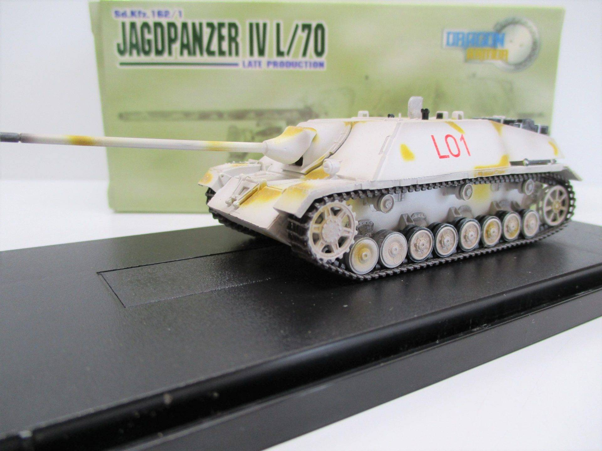 LOT 53267Ground Armor 36123 Jagdpanzer IV 1945 1:72 NEU in OVP
