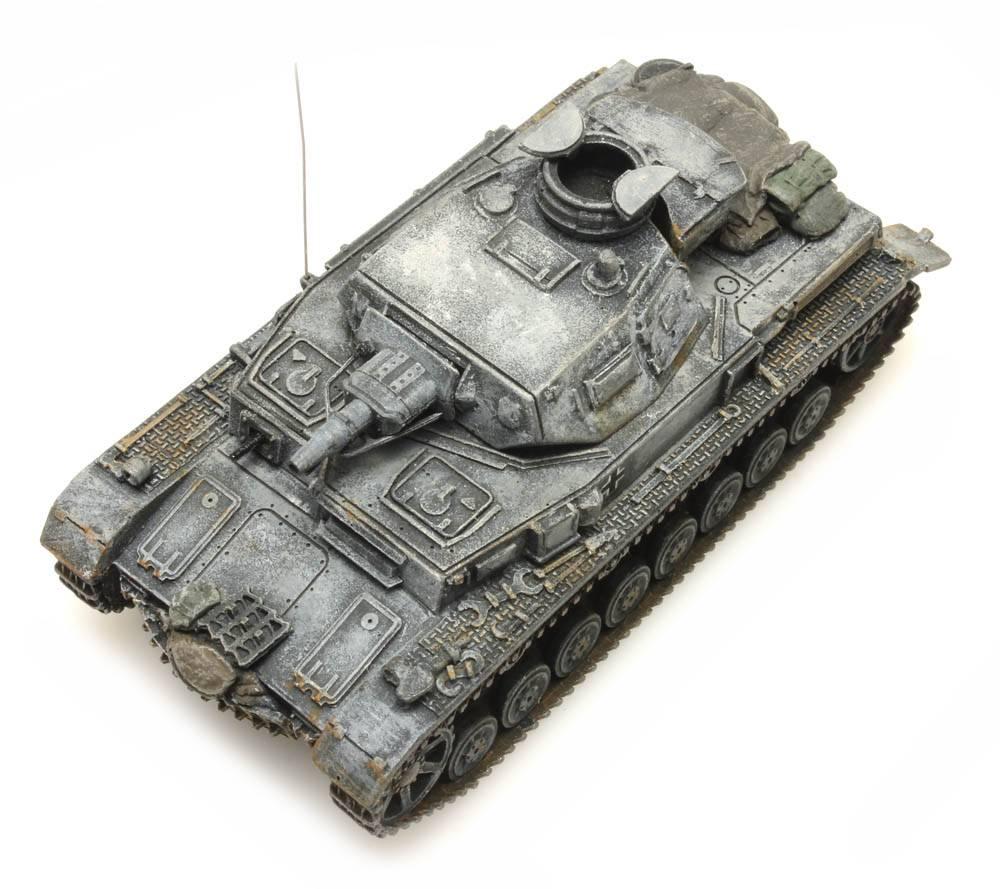 D der EDW WK II  in 1:87 H0 Artitec 387.318 Panzer IV Auf